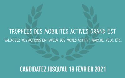 Trophées des Mobilités Actives Grand Est Edition 2021