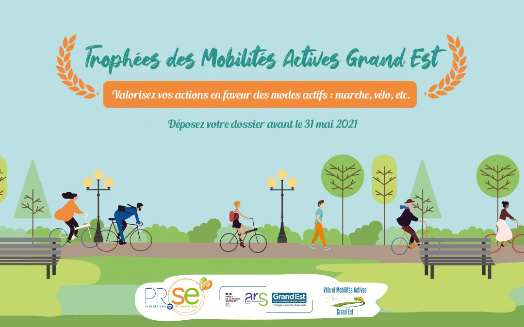 Prolongation des Trophées des Mobilités Actives Grand Est 2021
