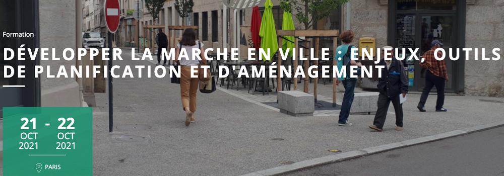 Formation CEREMA : Marche en ville