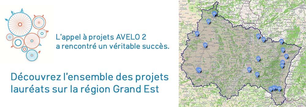 lauréats de l'appel à projets AVELO 2